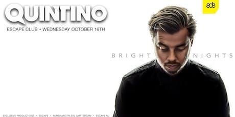Quintino presents: Bright Nights - ADE 2019 tickets