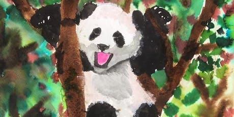 Children's Under 14's Drawing & Painting with Loren Somerville.  tickets