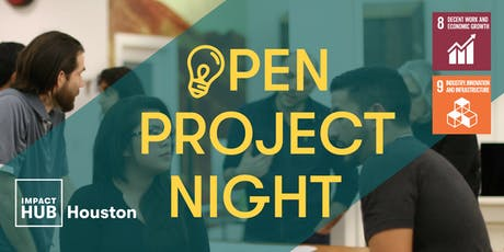 Open Project Night: Highlighting Sustainable Development Goal 8 & 9 tickets