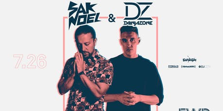 Sak Noel and DJ Dainjazone - FWD Day + Nightclub tickets