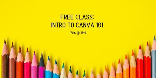Free Class: No Graphic Designer? No Problem! Intro to Canva for Business