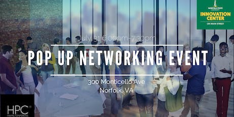Pop Up Networking Event tickets