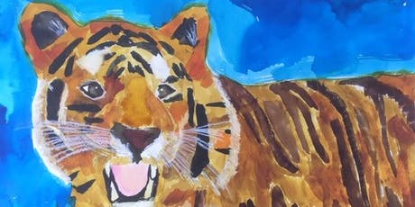 Children's Under 14's Drawing & Painting with Loren Somerville tickets