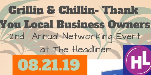 2nd Annual Thank You to NJ Local Business Owners Networking-Grillin&Chillin