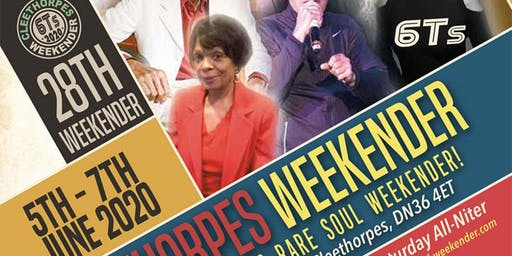 28th 6Ts Cleethorpes Northern & Modern Rare Soul Weekender
