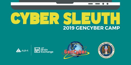 Tech Sleuth Cybersecurity Camp for Girls ages 14-18 years