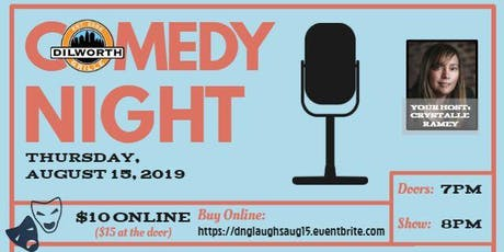 Dilworth Laughs - Third Thursdays - AUGUST tickets