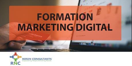 Atelier Marketing Digital par Rosen Consultants  tickets