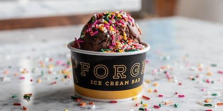 Forge Ice Cream Bar Pop Up tickets