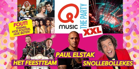 Qmusic The Party FOUT (XXL) - Goes tickets