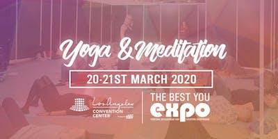 FREE: Yoga & Meditation-Los Angeles Convention Center