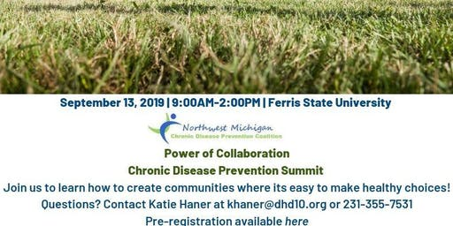 Northwest Michigan Chronic Disease Prevention Coalition Summit 2019