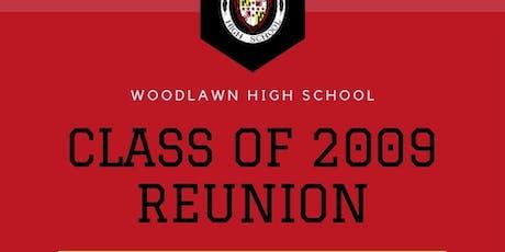 Woodlawn High School Class Reunion 2009 tickets