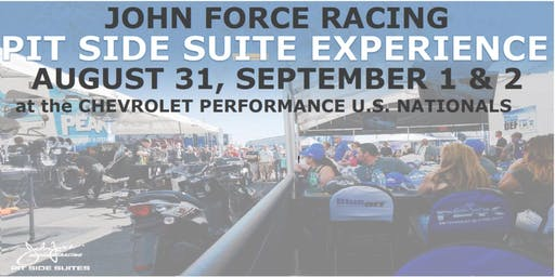 John Force Racing Pit Side Experience - Chevrolet Performance NHRA U.S. Nationals