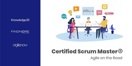Certified ScrumMaster (CSM ) - Agile on the Road bilhetes