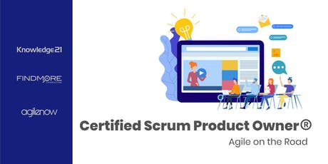 Certified Scrum Product Owner (CSPO ) - Agile on the Road bilhetes