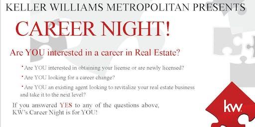 Keller Williams Metropolitan Career Night