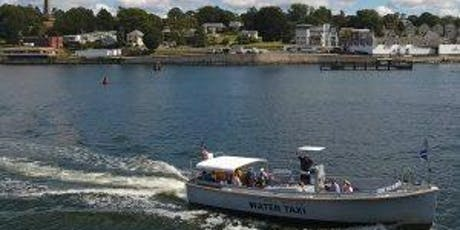 New London History Aboard the Thames River Water Taxi tickets