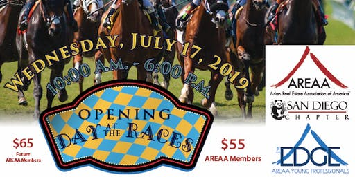 SD AREAA / EDGE Opening Day at Del Mar Races