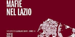 """IV° Rapporto """"Mafie nel Lazio"""""""