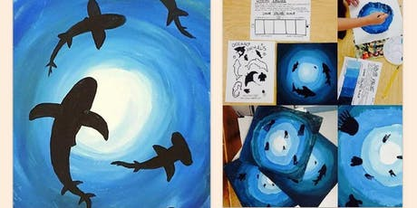 Kids/Adult Art Class- Ocean Theme tickets
