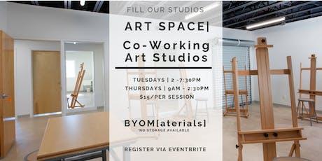 Art Space | Co-Working Art Studios tickets