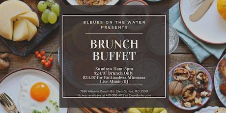 Bleues Brunch Buffet tickets