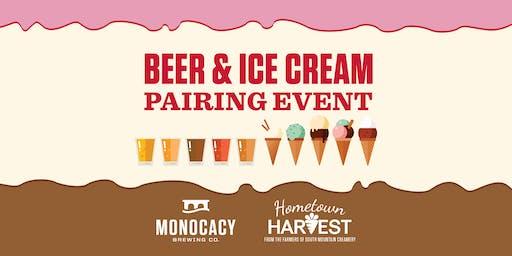 Beer & Ice Cream Pairing