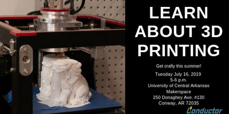 Learn About 3D Printing tickets