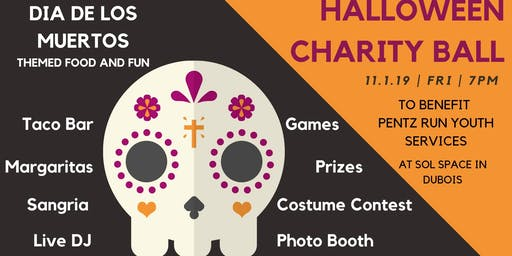 Halloween Charity Ball for Pentz Run Youth Services