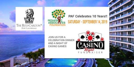 Pediatric Associates Foundation - 10 Year Celebration Dinner & Casino Night