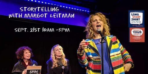 Storytelling with Margot Leitman