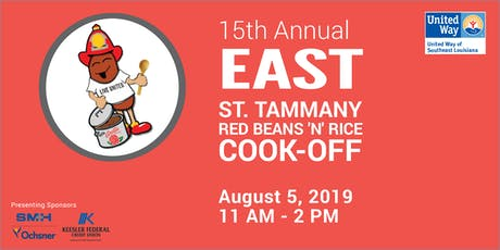 UWSELA's 15th Annual East St. Tammany Red Beans 'N' Rice Cook-Off tickets