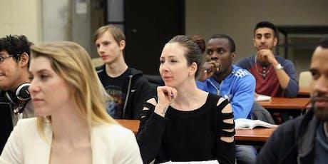 Degree Preparation (U-Level) Course Registration - English tickets