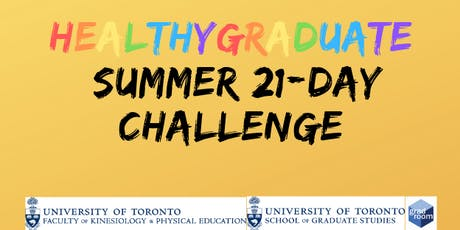 HealthyGraduate Summer 21 Day Challenge Info Session tickets