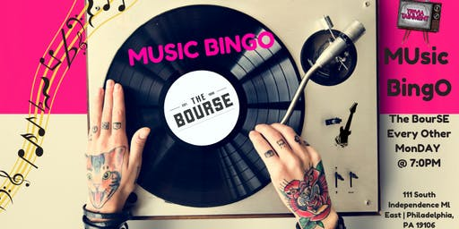 MUsic BingO at The Bourse Philly