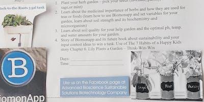 SUS Aqua Herb Bio Garden Biotech Camp