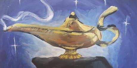 Family Paint Night- Aladdin tickets