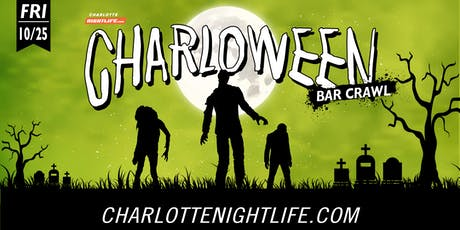 HOST EUN: 14th Annual CHARLOWEEN Bar Crawl  tickets