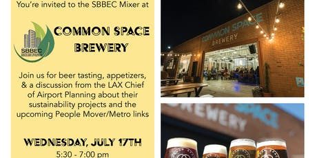 SBBEC July 2019 Mixer tickets
