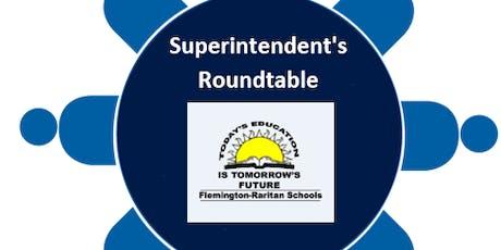 Superintendent Roundtable Session-October 1/Robert Hunter tickets
