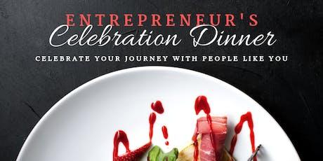 Entrepreneurs Private Celebration  Dinner tickets