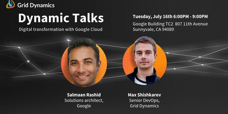 """Dynamic Talks: Silicon Valley """"Digital transformation with Google Cloud"""" tickets"""