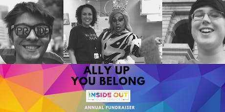 "Inside Out Youth Services Presents Ally Up ""You Belong"" Annual Fundraiser Breakfast 2019 tickets"