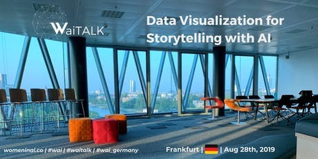 "WaiTALK on ""Data Visualization for Storytelling with AI"" tickets"