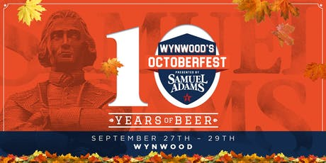 Wynwood's Octoberfest Presented by Samuel Adams tickets