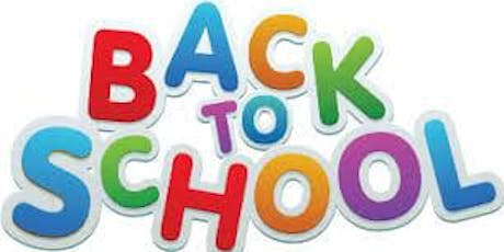 Back To School - Wood Painting tickets