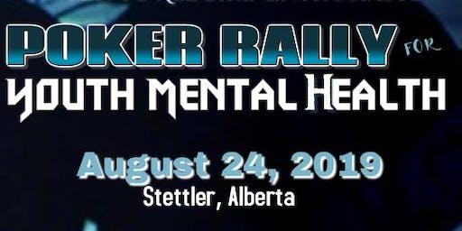 Poker Rally for Youth Mental Health- Stettler