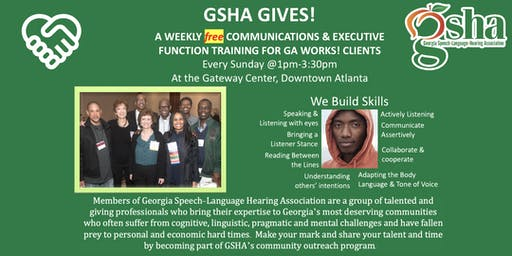 Volunteer and support GSHA & its collaboration with Georgia Works!