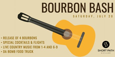 Bourbon Bash at Short Path Distillery tickets